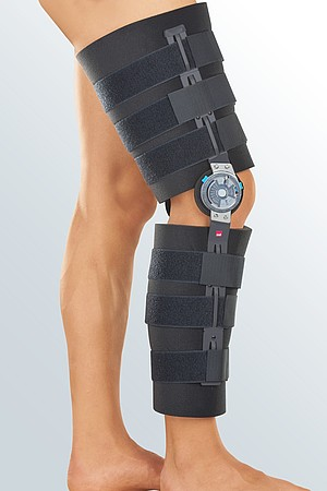 medi Rom knee brace black