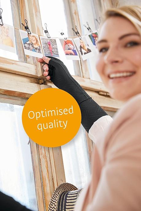Flat knit news mediven 550 arm optimised quality