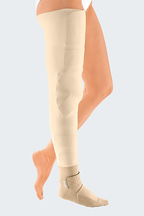 Circaid cover up whole leg beige