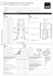 Måleskjema MTM juxtafit ben og fot