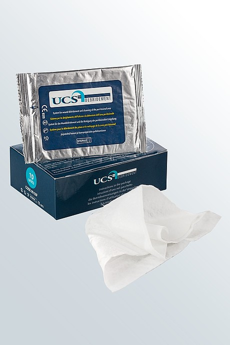 UCS Debridement wound care