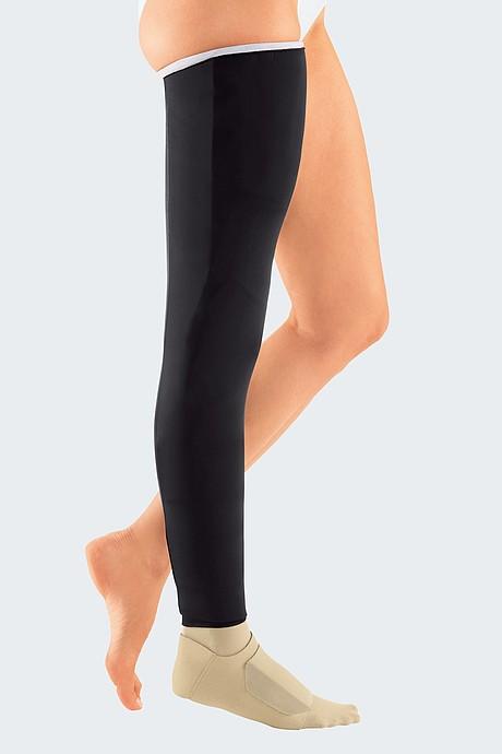 Circaid cover up whole leg black