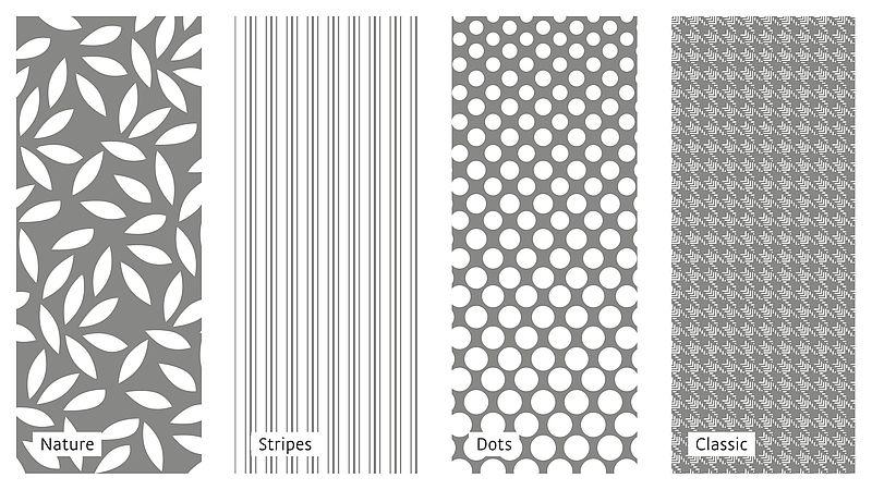 Nye mønster for mediven kompresjonsstrømper